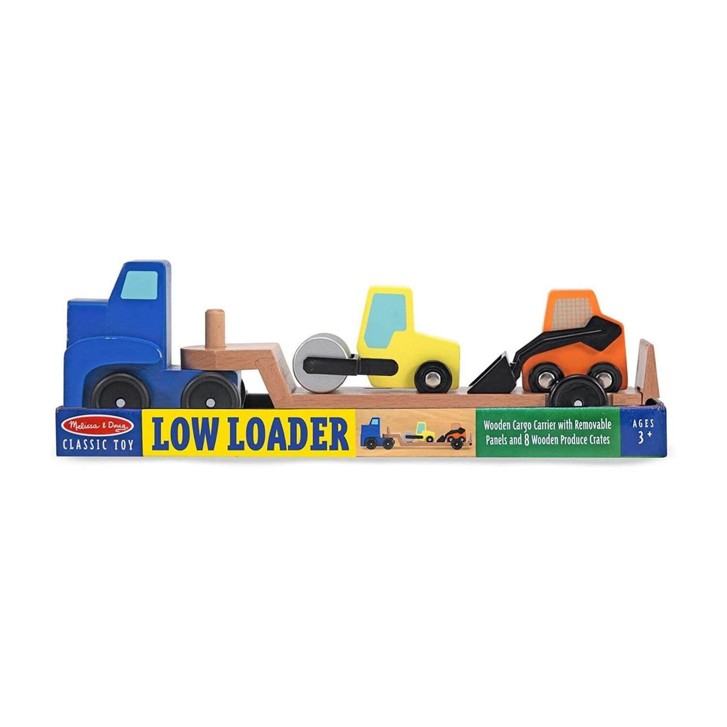 Melissa & Doug Classic Toy - Low Loader