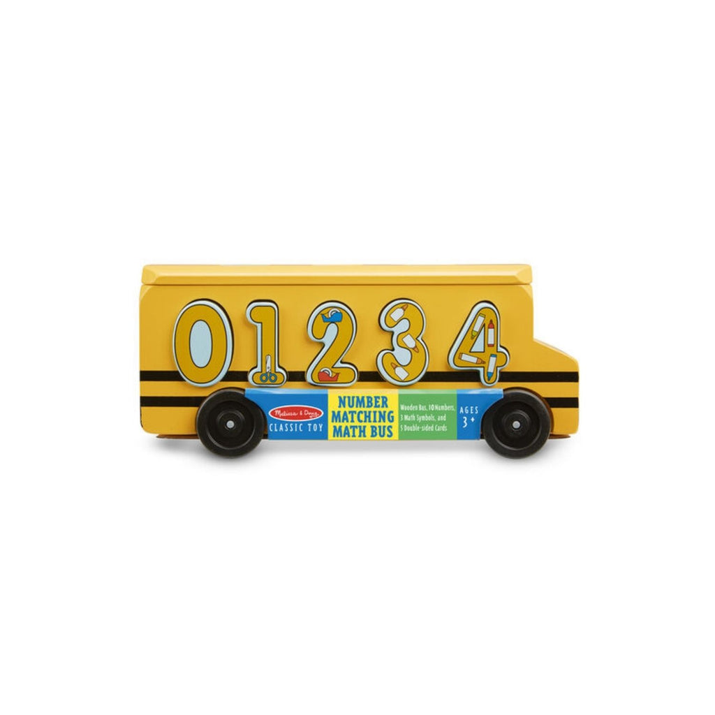 Melissa & Doug Classic Toy - Number Matching Math Bus