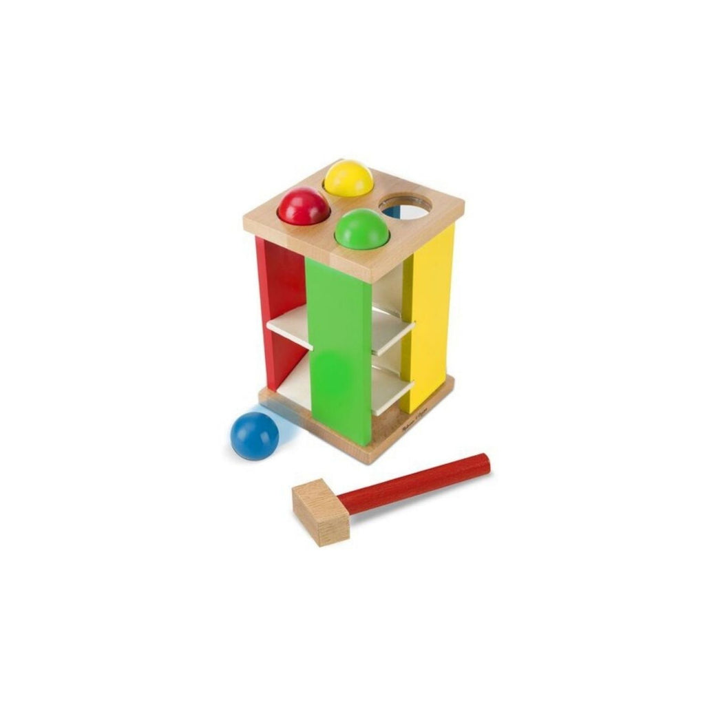 Melissa & Doug Classic Toy Pound and Roll Tower