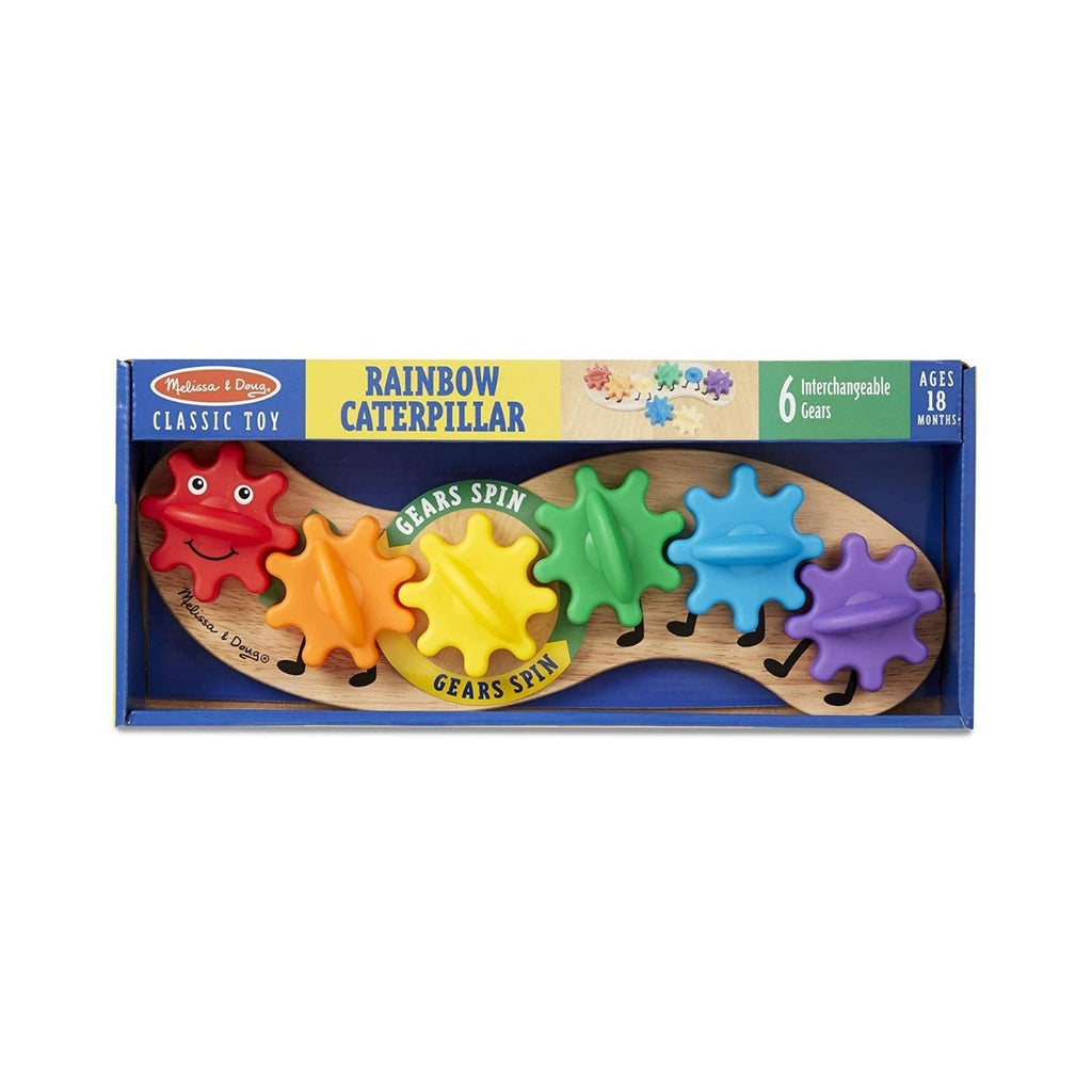 Melissa & Doug Classic Toy – Rainbow Caterpillar