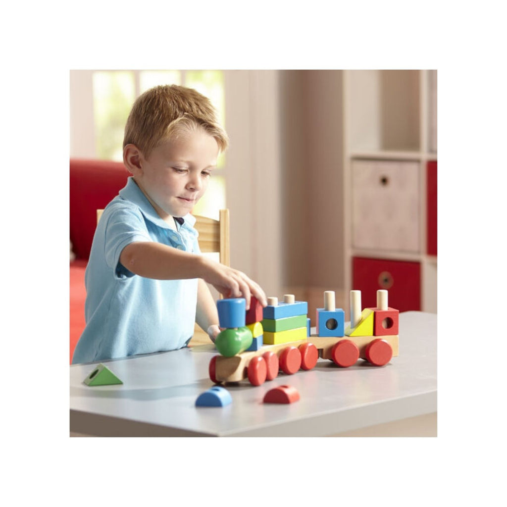 Melissa & Doug Classic Toy – Stacking Train 2