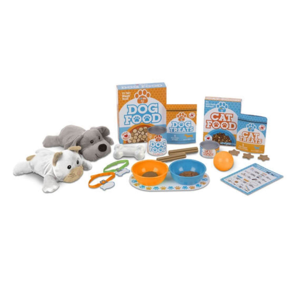 Melissa & Doug Feed & Play Pet Treats Play Set 3