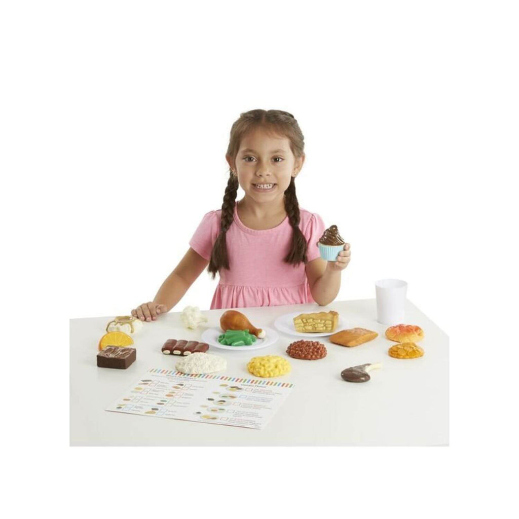 Melissa & Doug Food Fun Combine & Dine Dinner Red 2