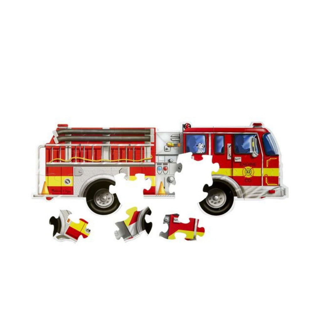 Melissa & Doug Giant Fire Truck Floor Puzzle - 24 Pieces 3