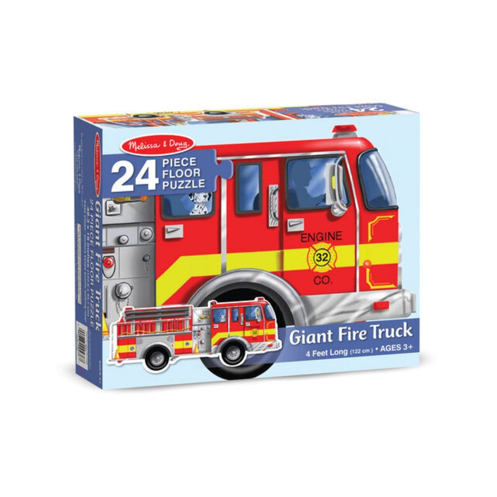 Melissa & Doug Giant Fire Truck Floor Puzzle - 24 Pieces 4