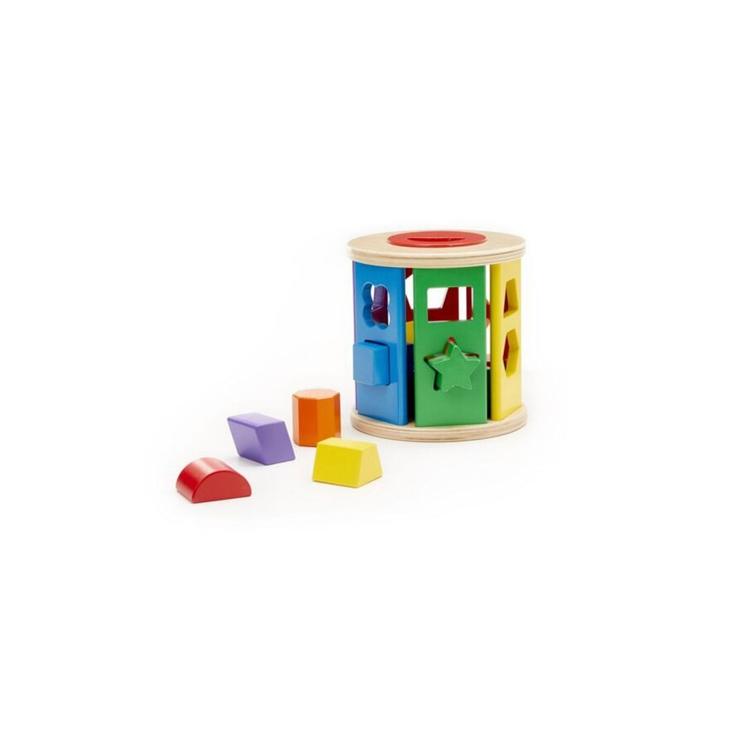 Melissa & Doug Match & Roll Shape Sorter 4