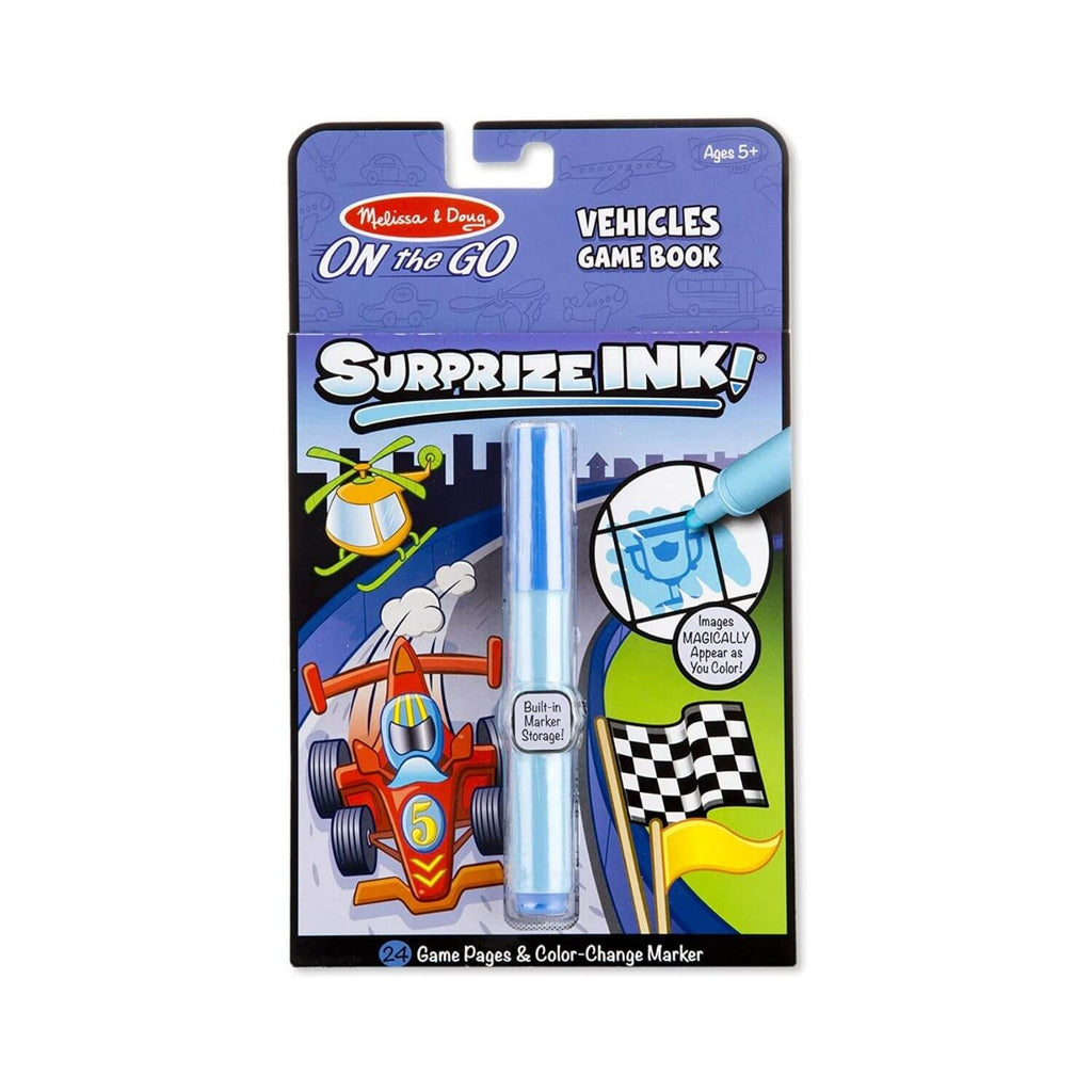 Melissa & Doug On the Go Surprize Ink Vehicle Game Book