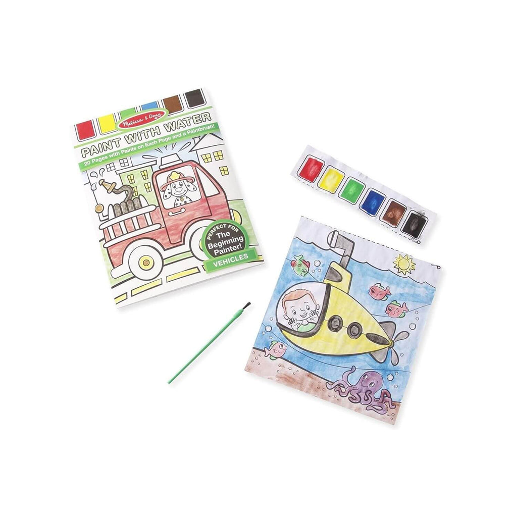 Melissa & Doug Paint with Water – Vehicles 3