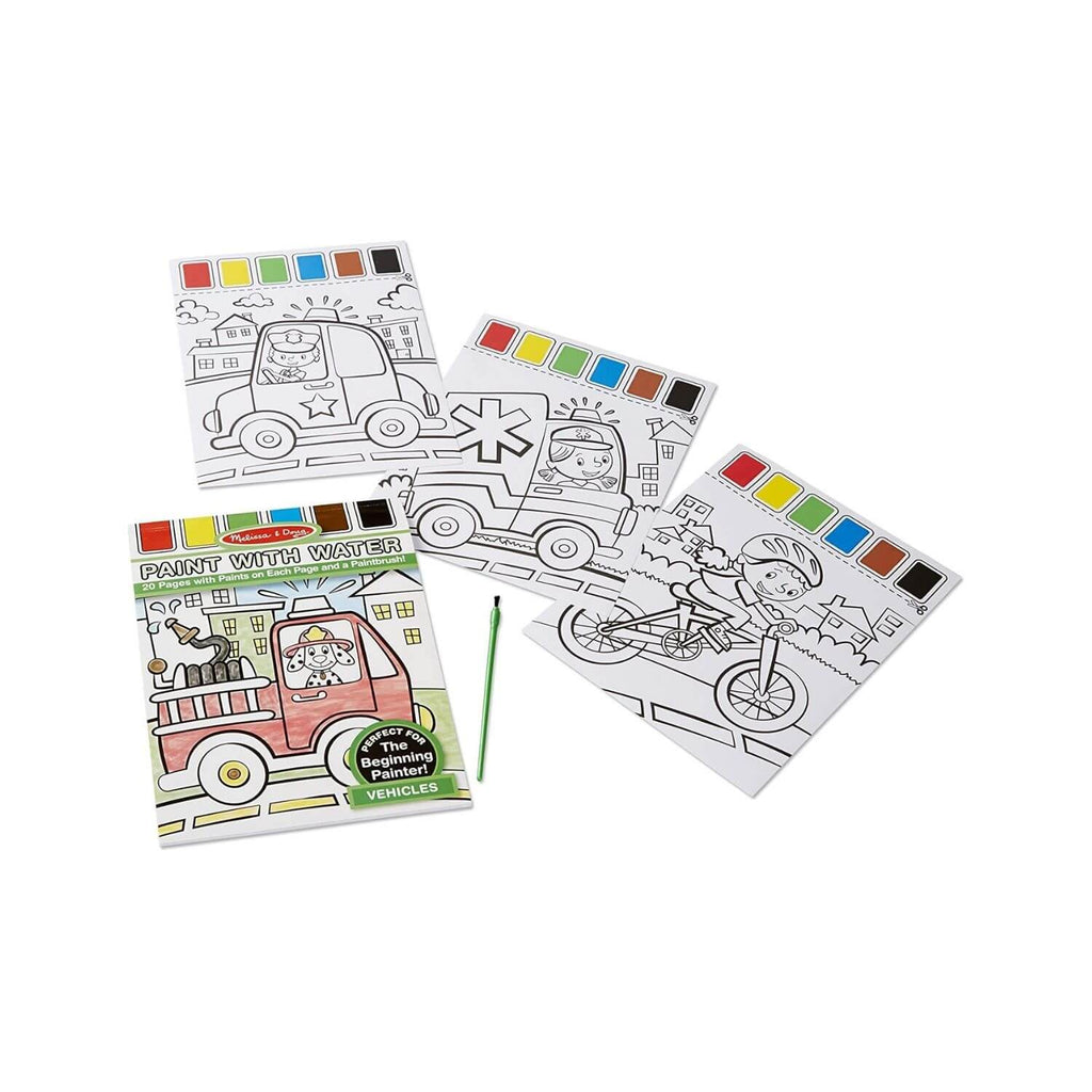 Melissa & Doug Paint with Water – Vehicles 4