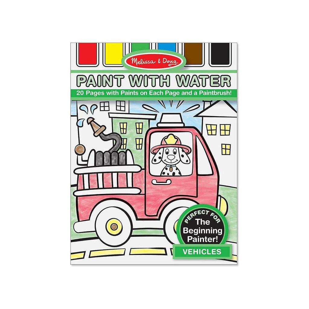 Melissa & Doug Paint with Water – Vehicles