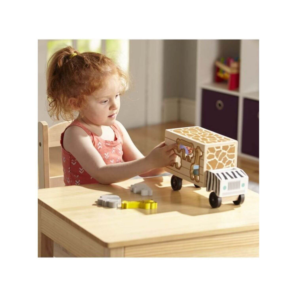 Melissa & Doug Safari Animal Rescue Truck 2