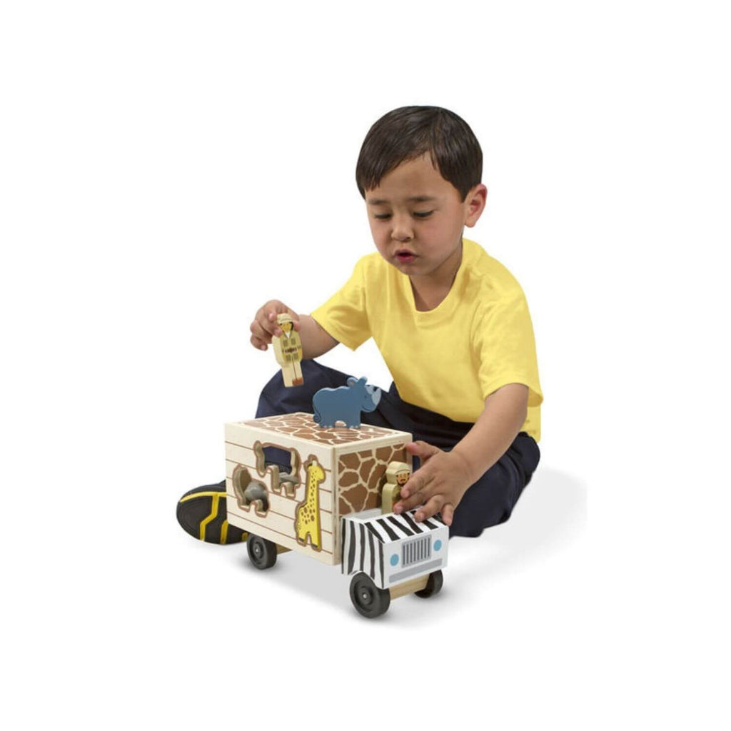 Melissa & Doug Safari Animal Rescue Truck 3