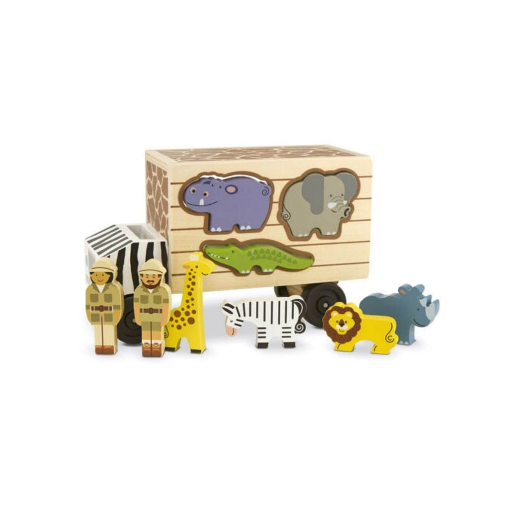 Melissa & Doug Safari Animal Rescue Truck 4