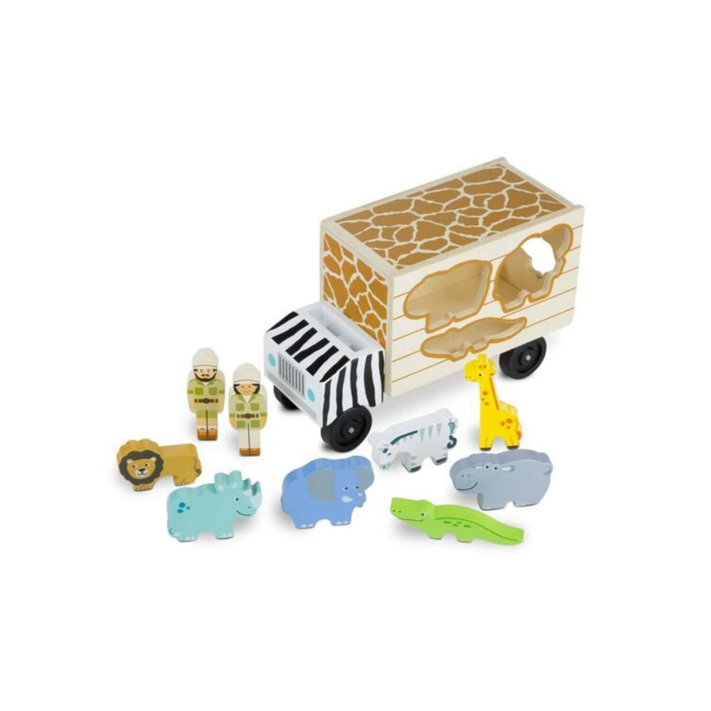 Melissa & Doug Safari Animal Rescue Truck 5