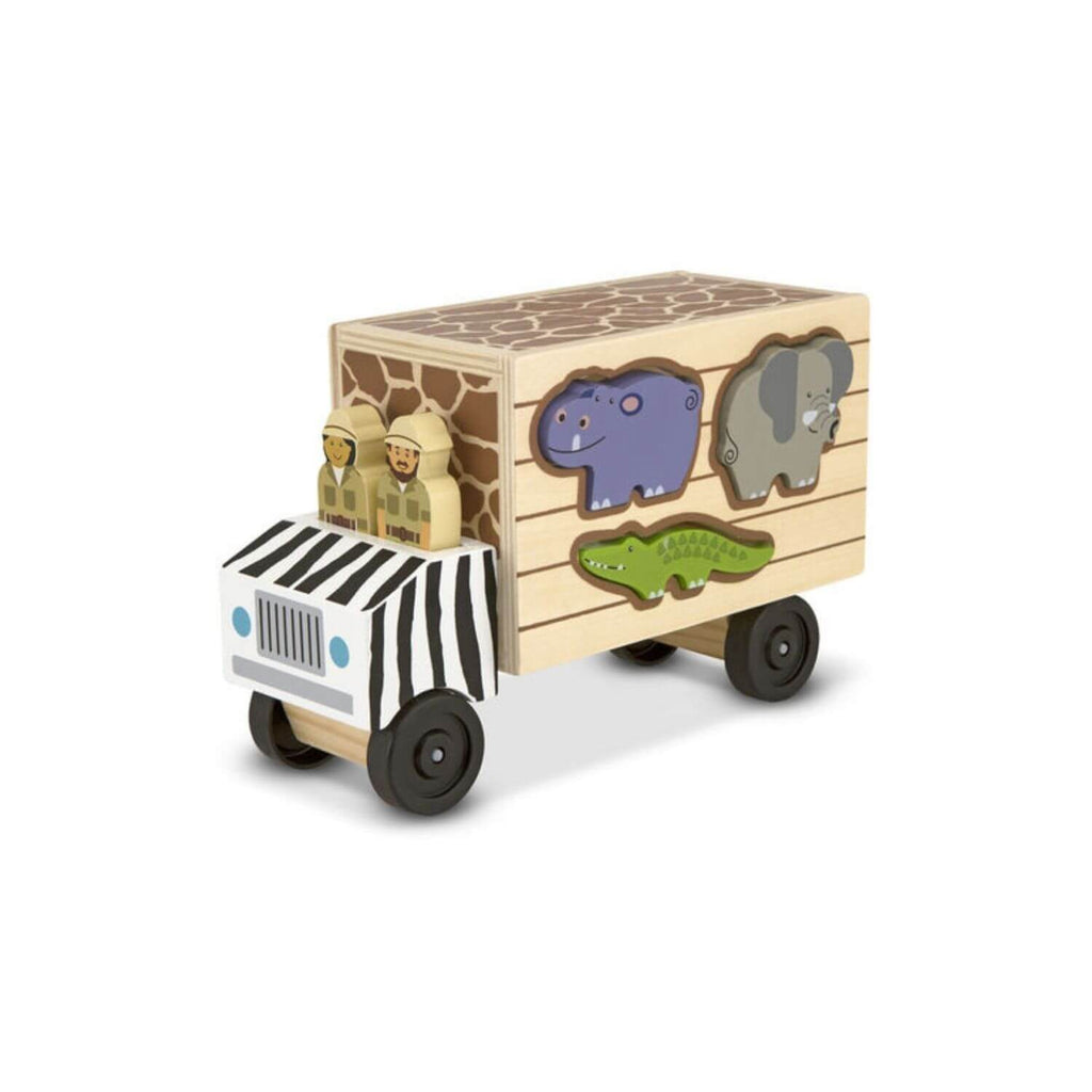 Melissa & Doug Safari Animal Rescue Truck 6
