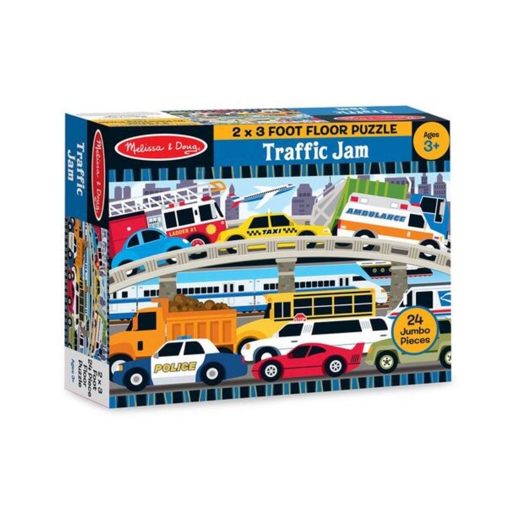 Melissa & Doug Traffic Jam Floor Puzzle 3