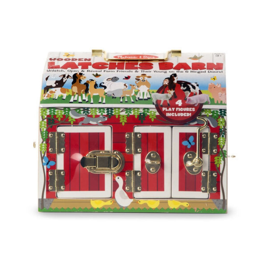 Melissa & Doug Wooden Latches Barn 4