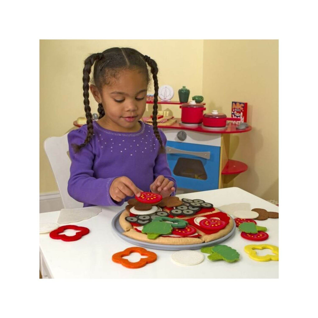 Melissa & Doug Felt Food - Pizza Set 2