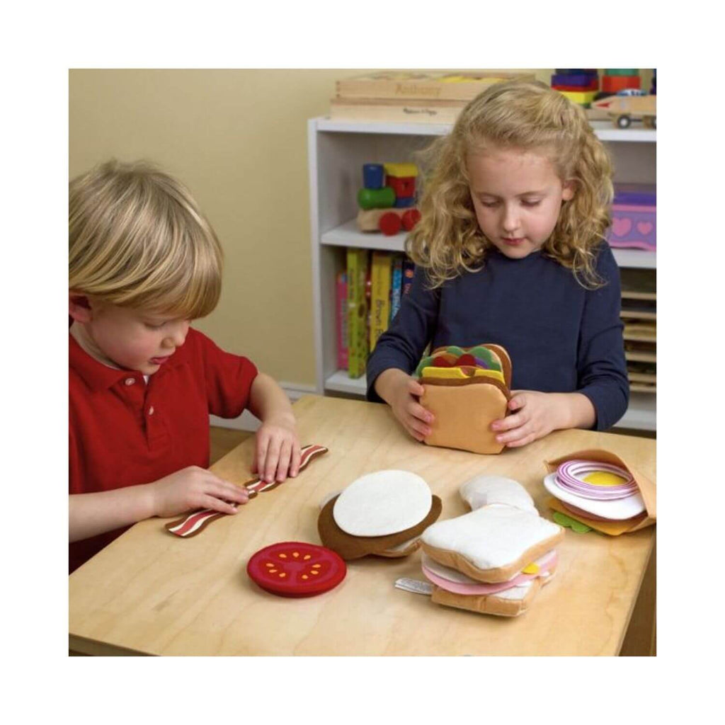 Melissa & Doug Felt Food - Sandwich Set 2