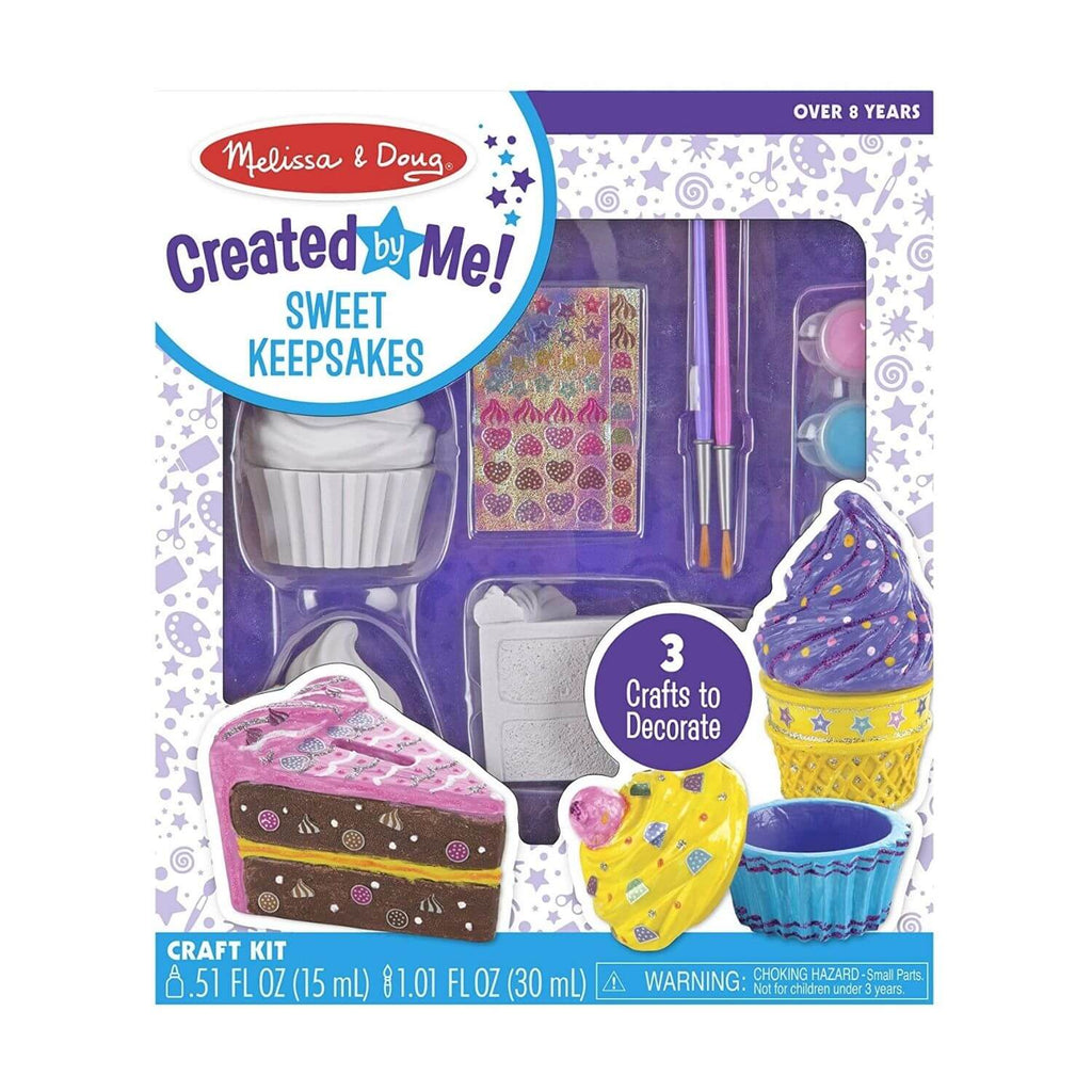 Melissa and Doug Created be Me Sweet Keepsakes