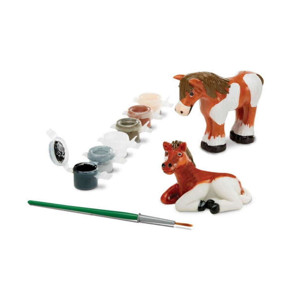 Melissa and Doug DYO Horse Figurines