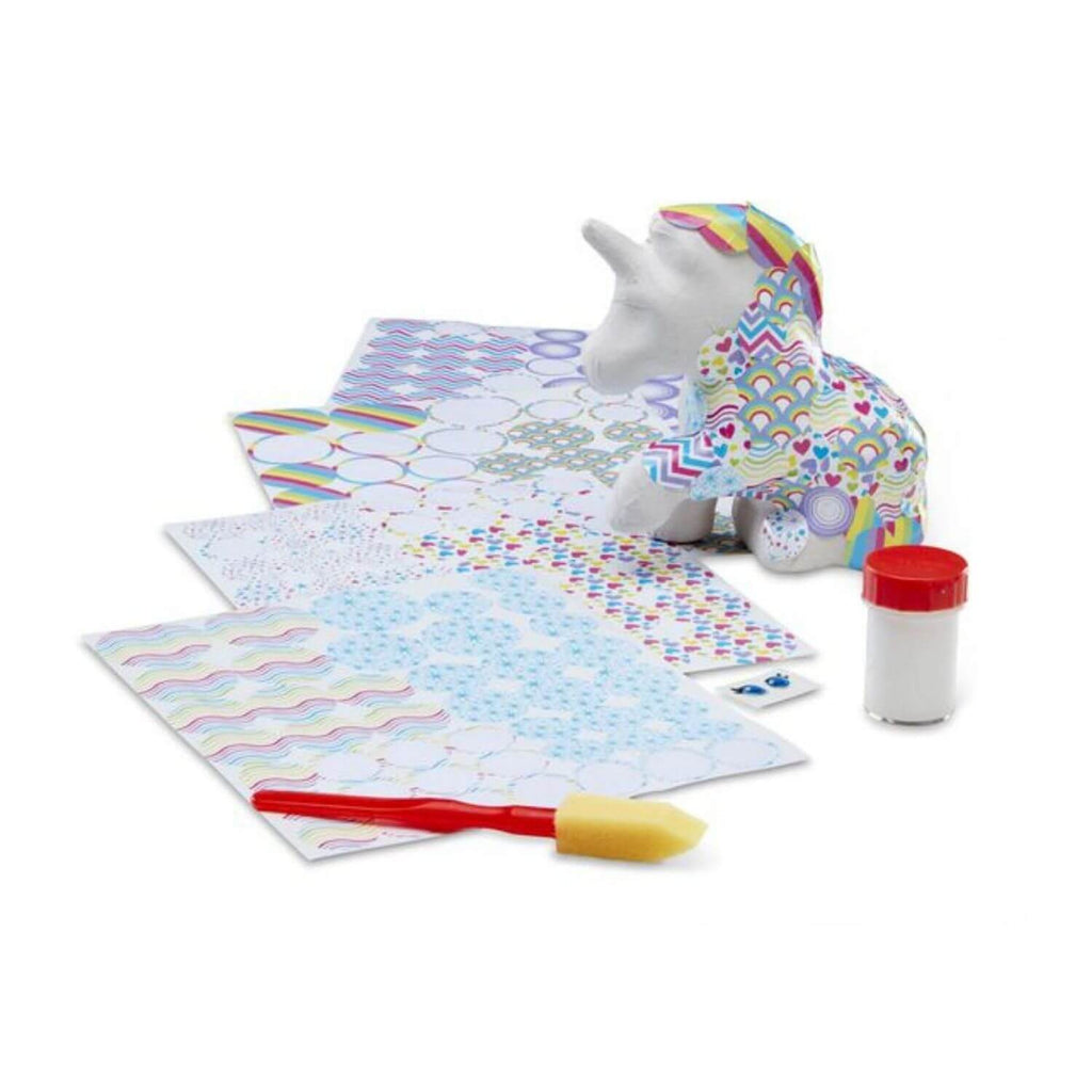 Melissa and Doug Decoupage Craft Set Unicorn