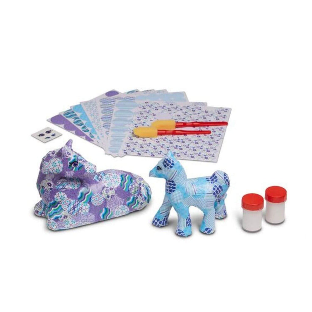 Melissa and Doug Decoupage Horse and Pony