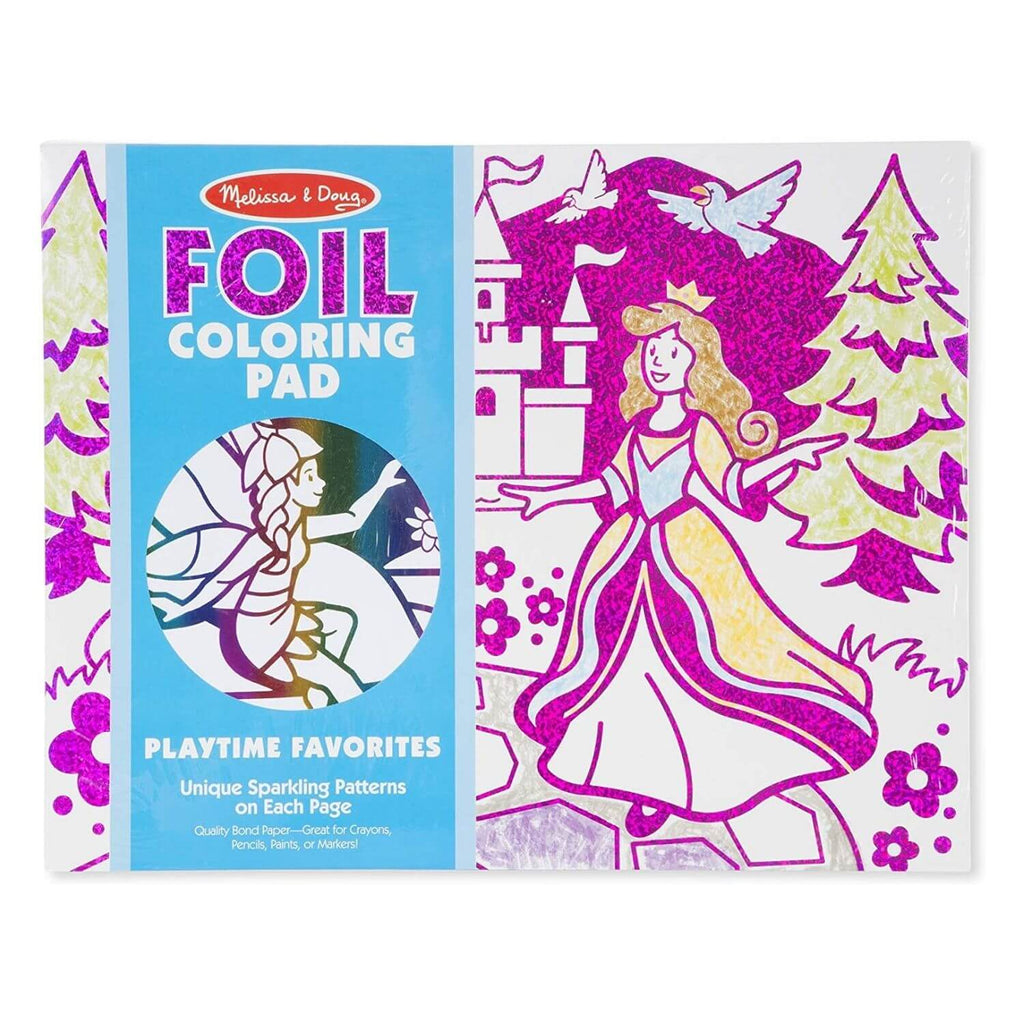 Melissa and Doug Foil Coloring Pad Playtime Favorite