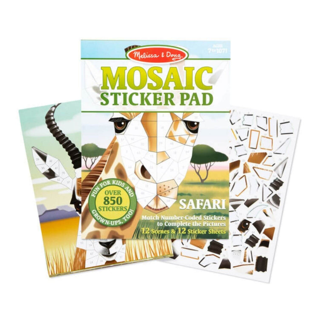 Melissa and Doug Mosaic Sticker Pad Safari