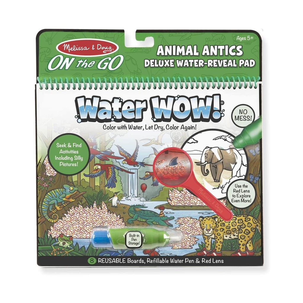 Melissa and Doug On the Go Water Wow Animal Antics