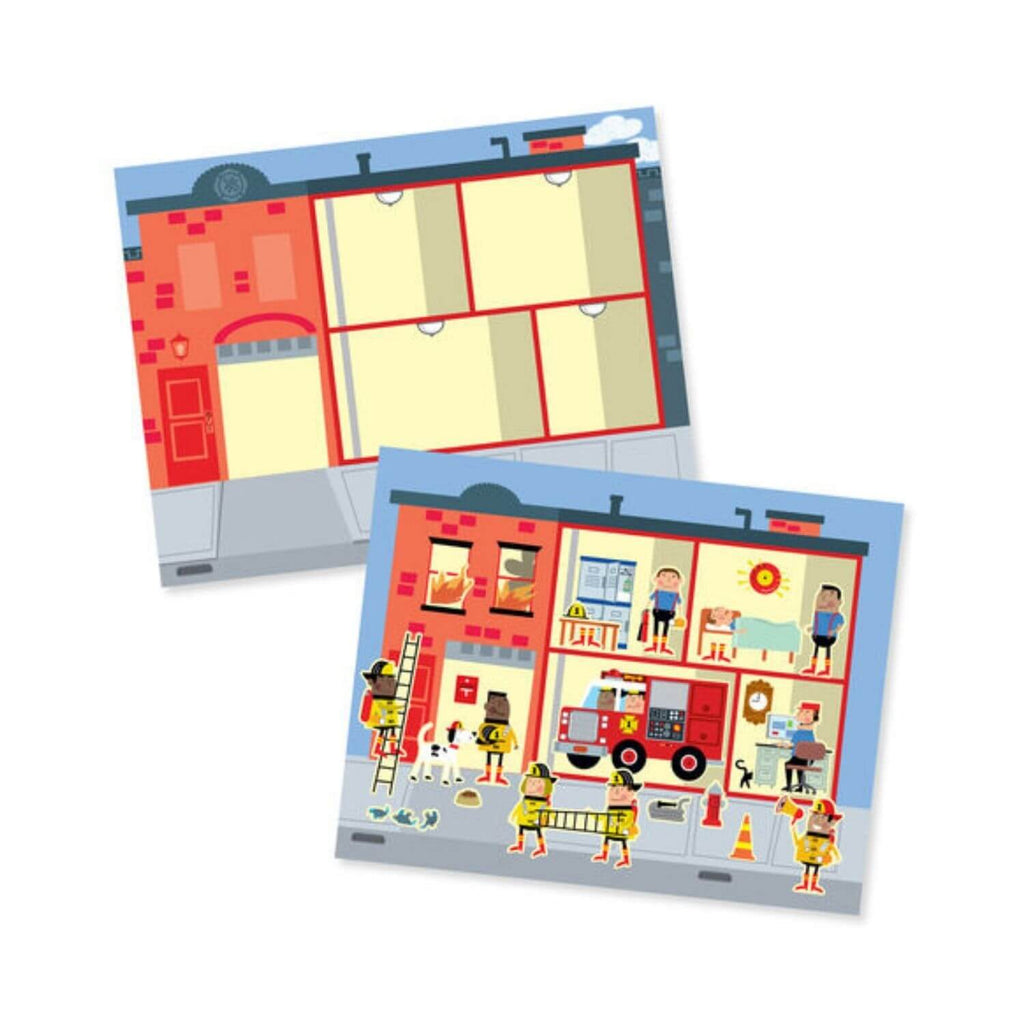 Melissa and Doug Reusable Sticker Pad My Town