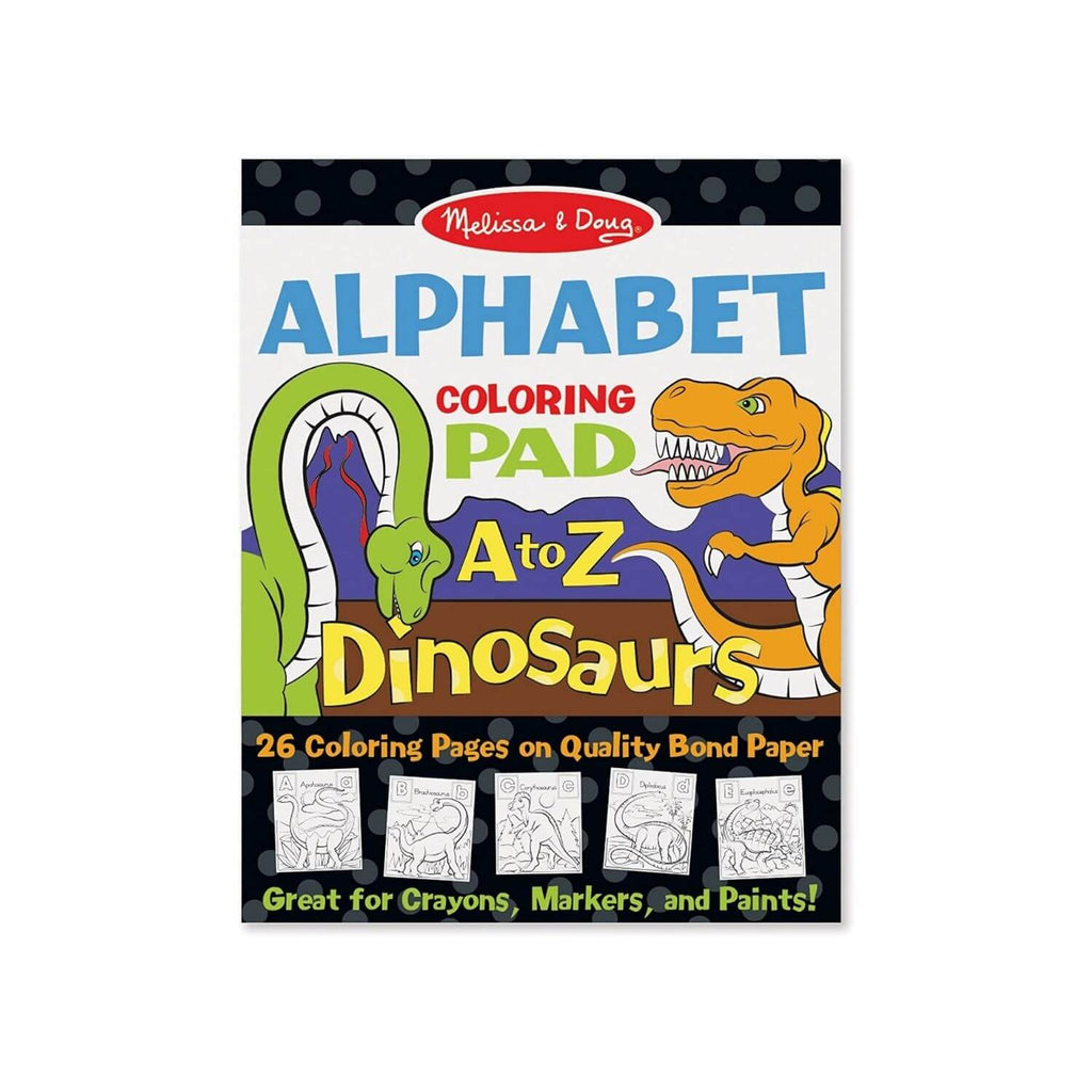 Melissa & Doug Animal Alphabet Coloring Pad