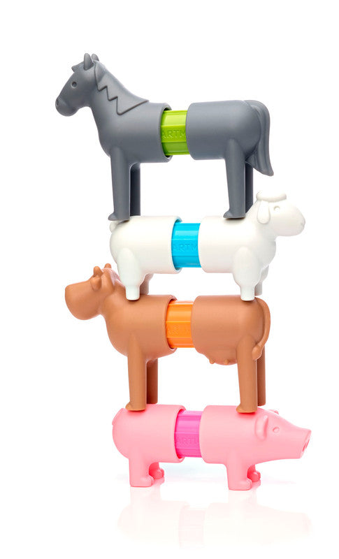 My First Farm Animals By Smartmax - Magnetic Discovery Building Set