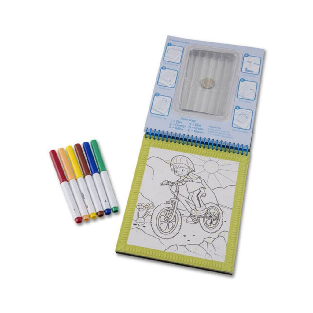 Melissa & Doug On the Go Color by Numbers Coloring Pad 3