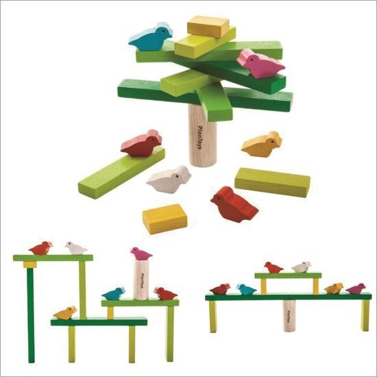 PlanToys Wooden Balancing Tree