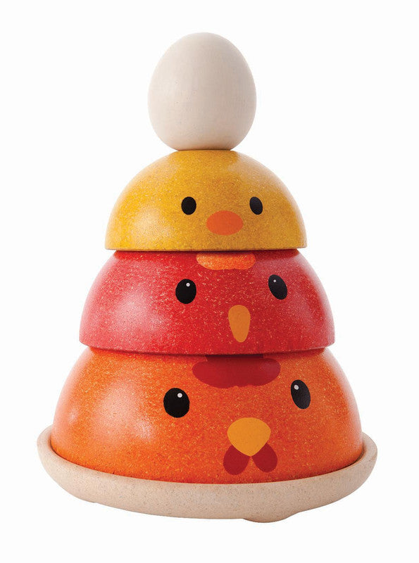 PlanToys Wooden Chicken Nesting