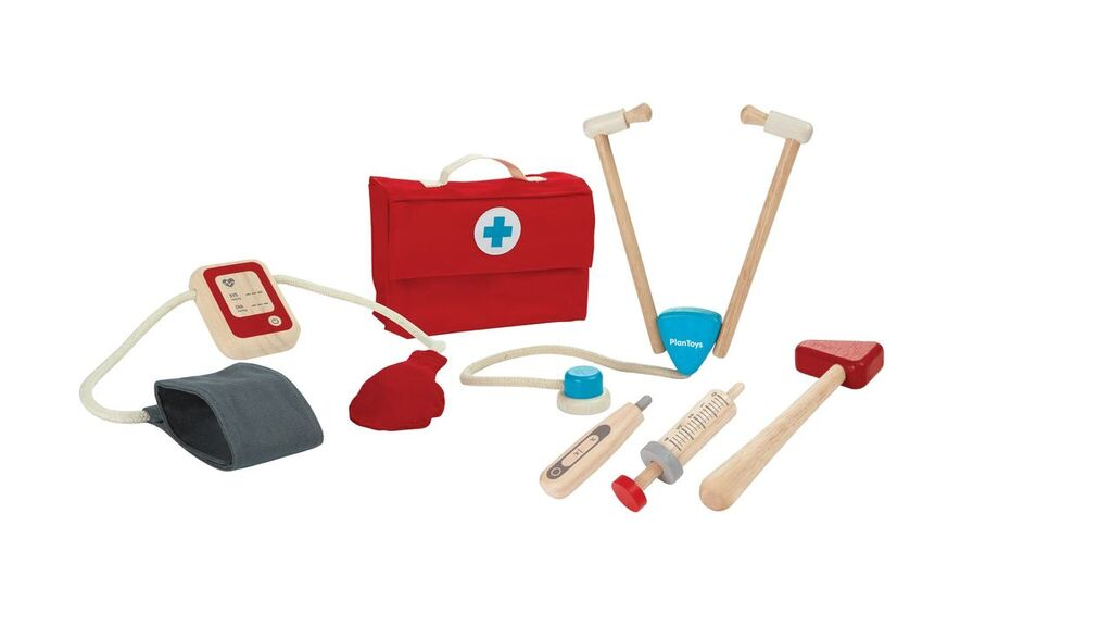PlanToys Wooden Doctor Set