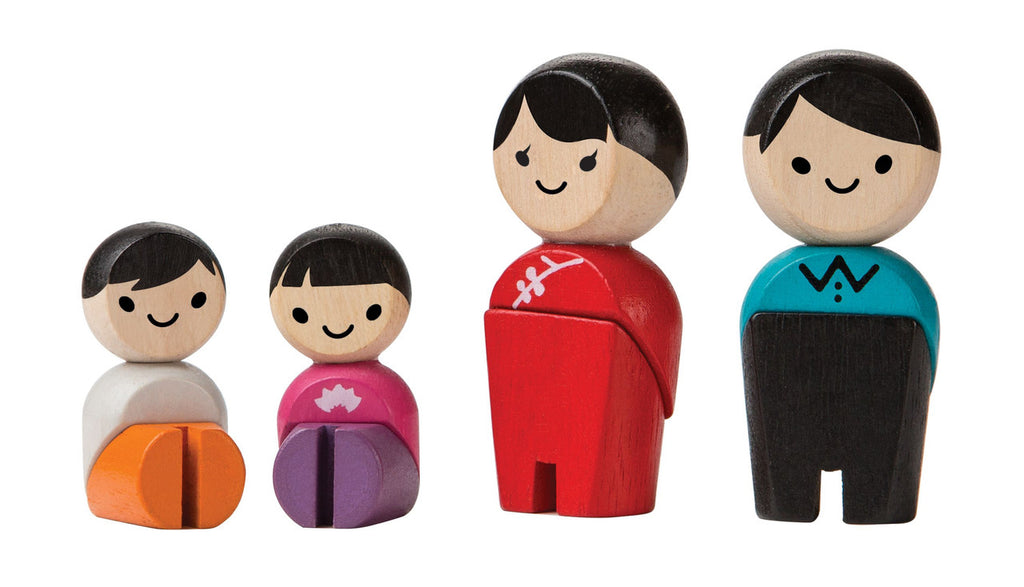 PlanToys Wooden Family iii (Asian Family)