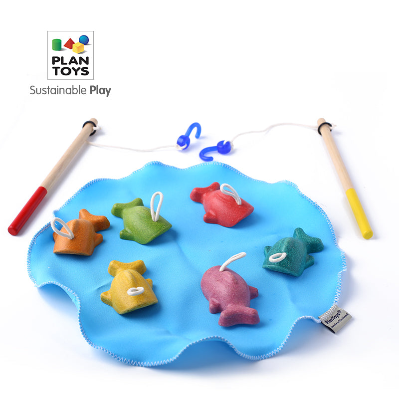 PlanToys Wooden Fishing Game