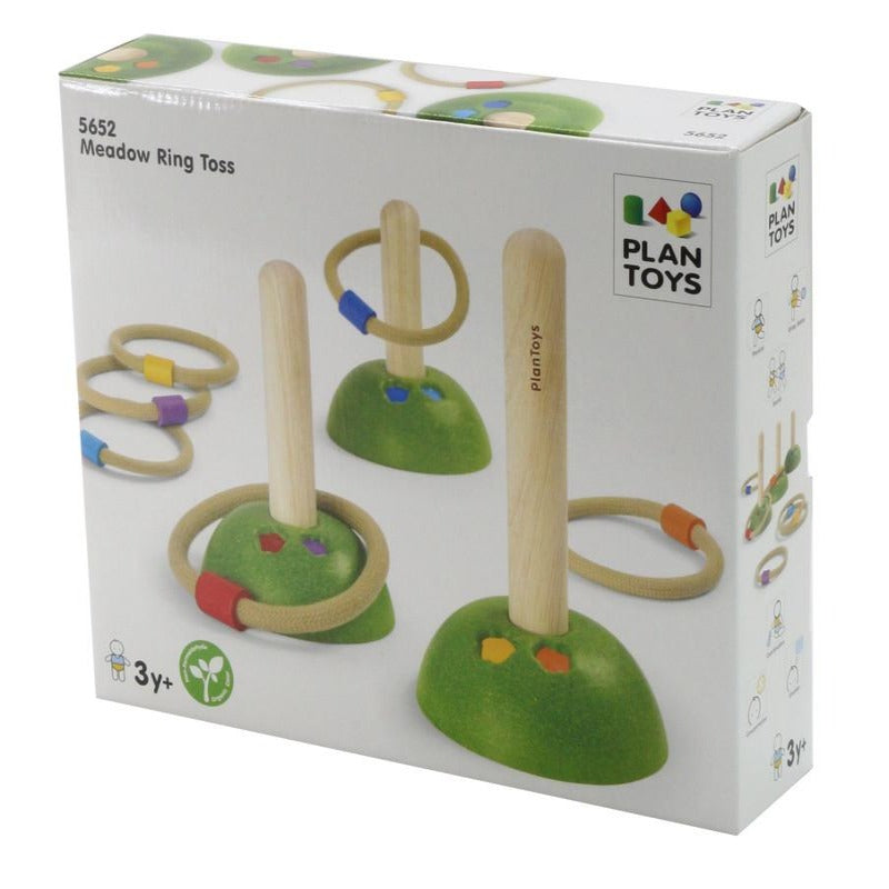 PlanToys Wooden Meadow Ring Toss