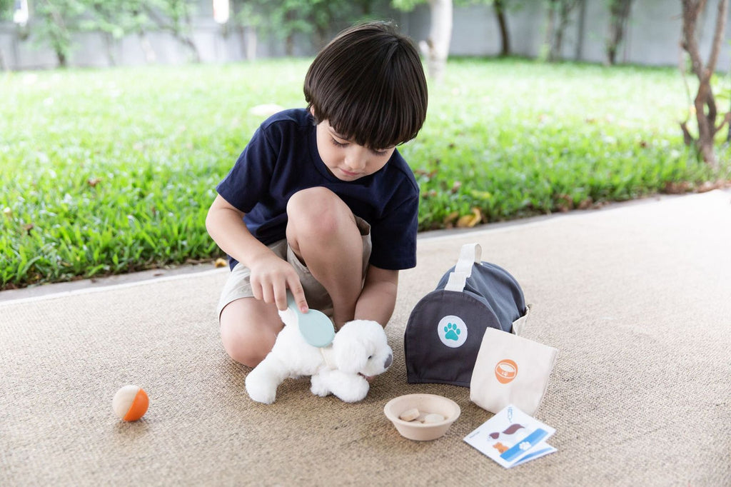 PlanToys Wooden Pet Care Set