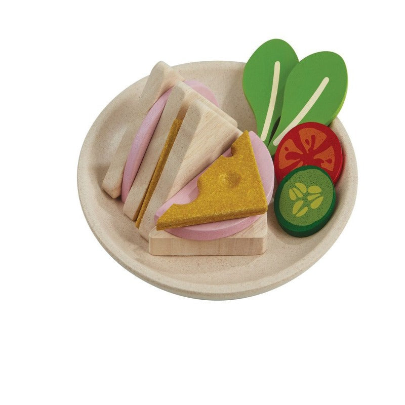 PlanToys Wooden Sandwich Set