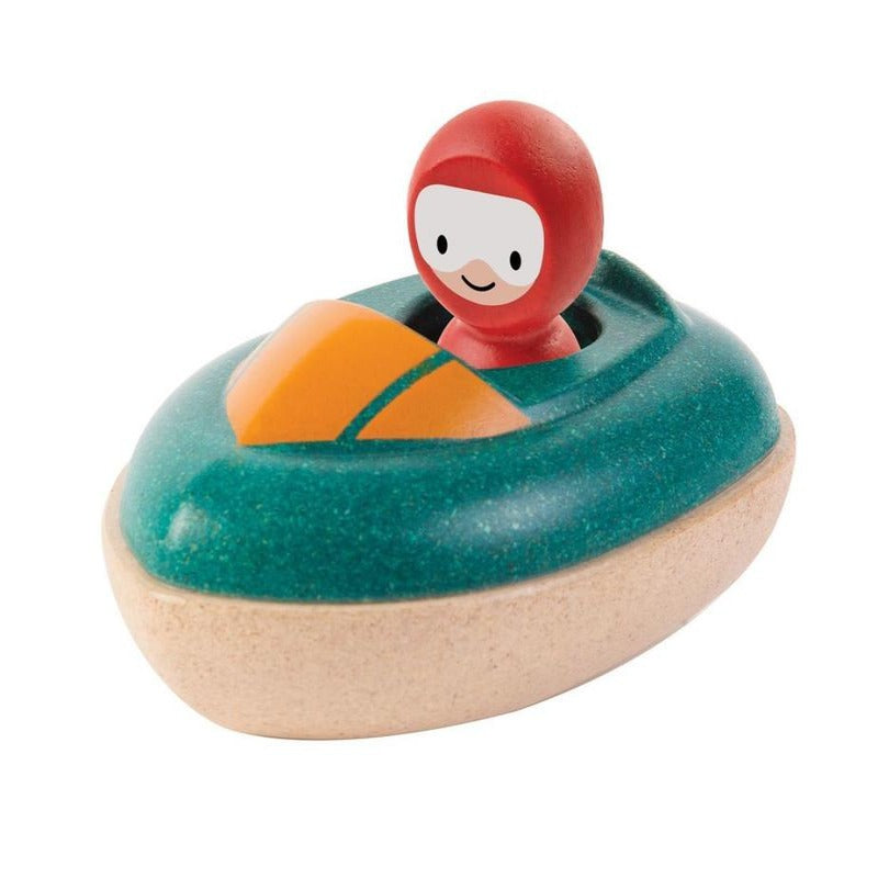 PlanToys Wooden Speed Boat