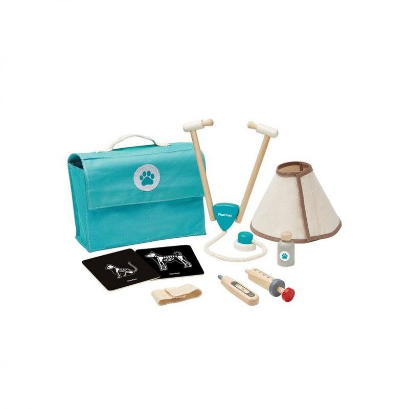 PlanToys Wooden Vet Set