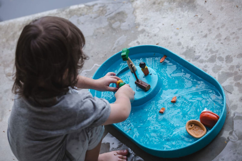 PlanToys Wooden Water Play Set