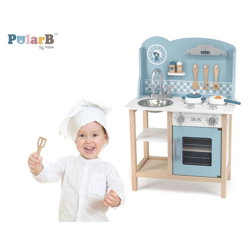 PolarB Pastel Blue Kitchen + Cooking Accessories 2