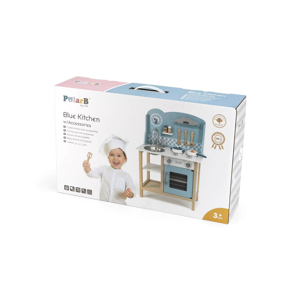 PolarB Pastel Blue Kitchen + Cooking Accessories 5