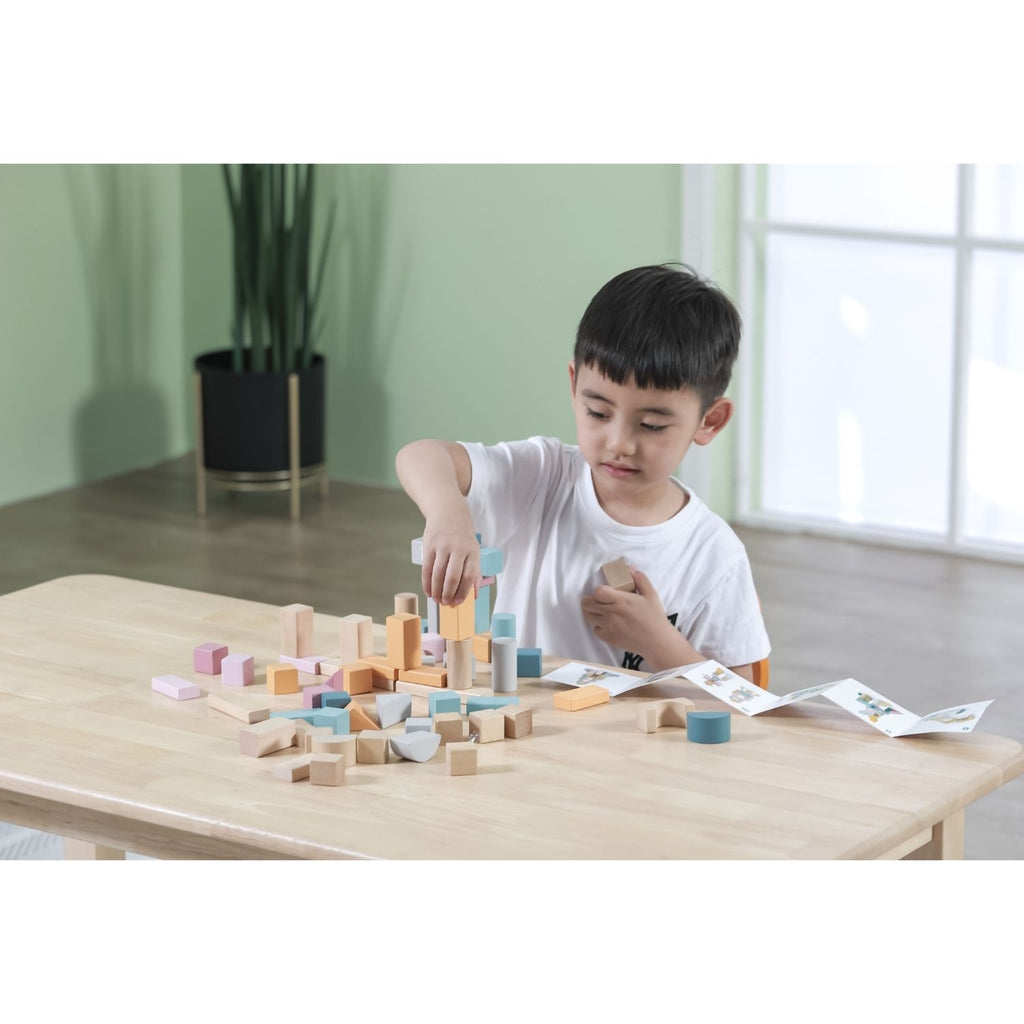 PolarB Wooden Blocks - 60pcs 3