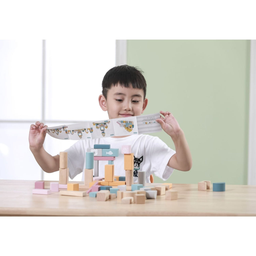 PolarB Wooden Blocks - 60pcs 4
