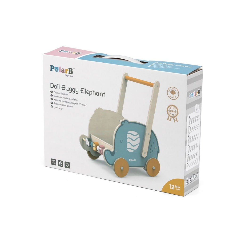 PolarB Wooden Elephant Walker / Buggy 2